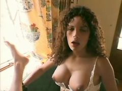 Curly tranny fucking guy